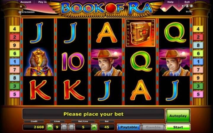 Book of Ra Classic, Bonus Casino