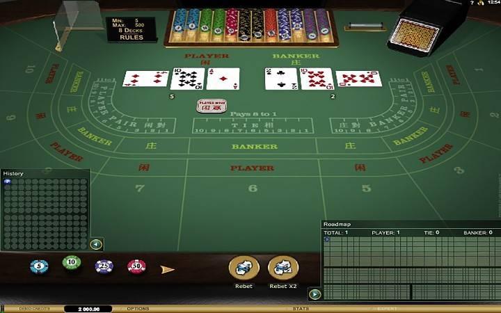 Baccarat Gold, Online Casino, Bonus