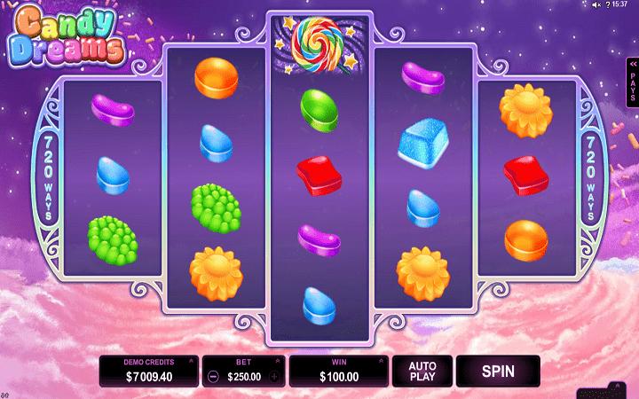 Candy Dream, Microgaming, Online Casino Bonus