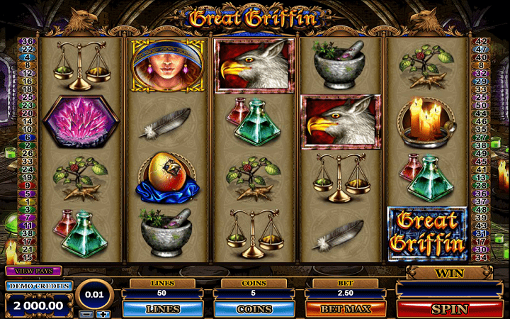 Great Griffin, Microgaming, Online Casino Bonus