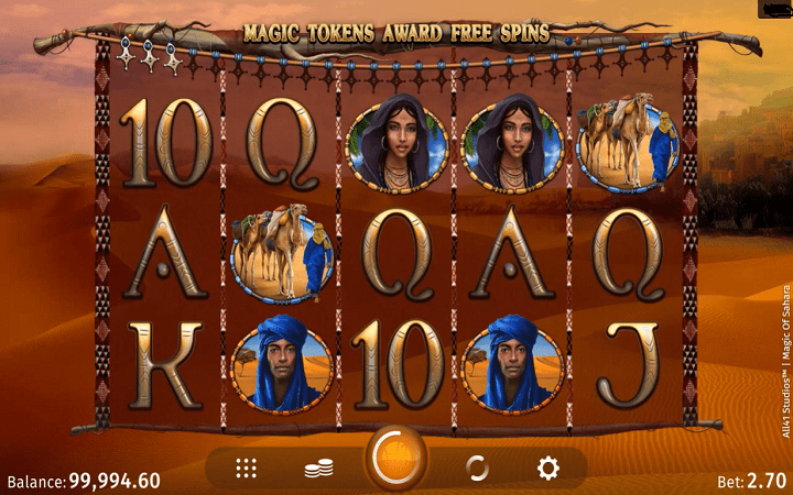 Magic of Sahara, Microgaming, All41 Studio, Online Casino Bonus