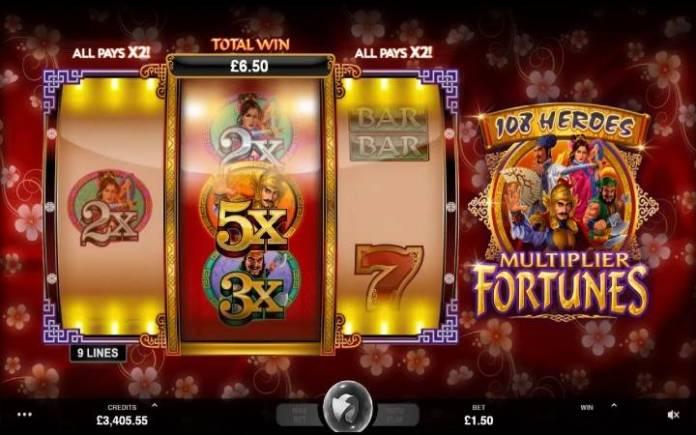 Online Casino Bonus, 108 Heroes Multiplier Fortnues