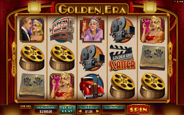 Golden Era, Microgaming, Bonus Casino