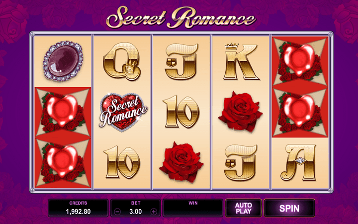Secret Romance, Microgaming, Online Casino Bonus
