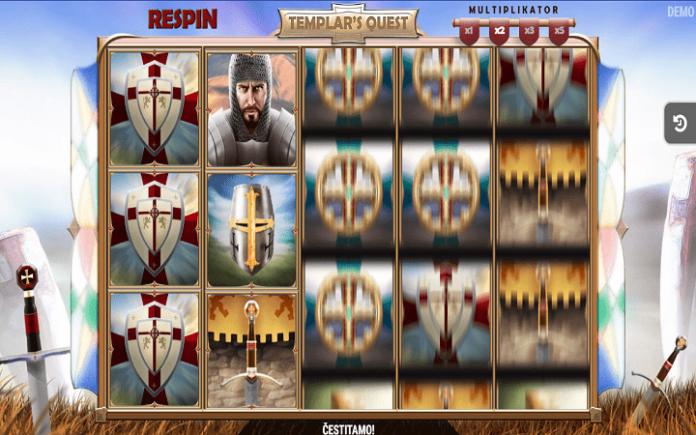 Templar's Quest, Fazi, Online Casino Bonus