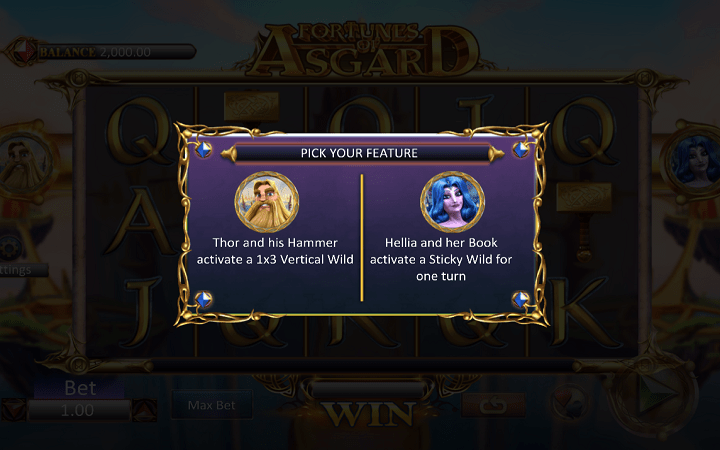 Fortunes of Asgard, Microgaming, Online Casino Bonus