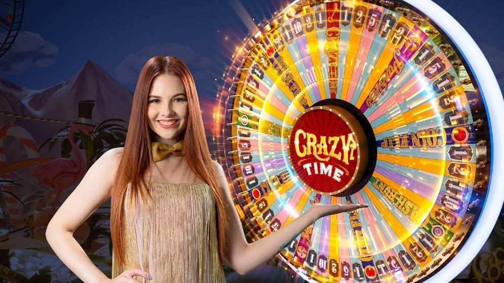 Crazy Time – zavrtite točak sreće u sjajnoj uživo kazino igri!