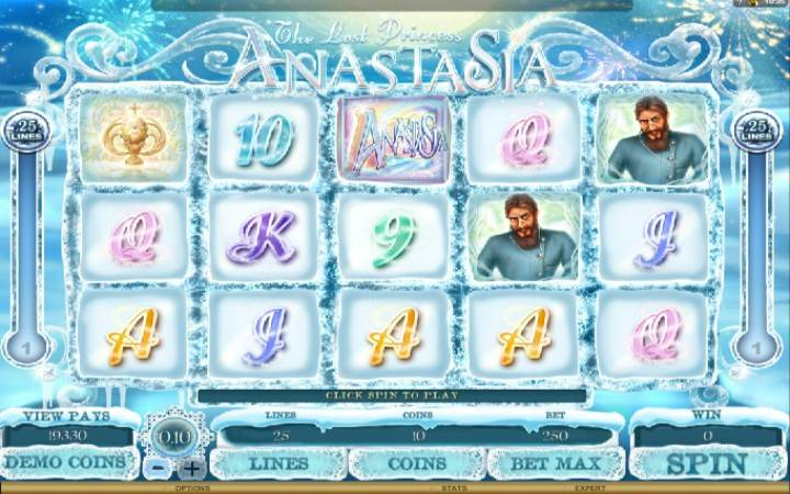 The Lost Princess Anastasia, online casino bonus