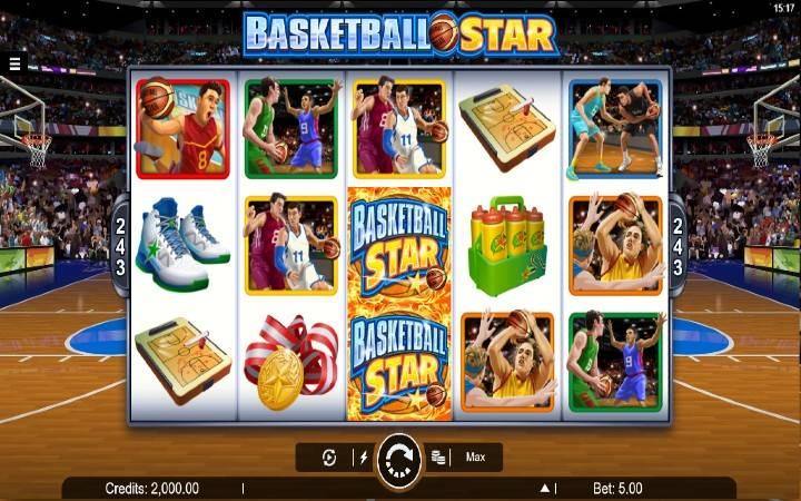 Basketball Star, Online Casino Bonus