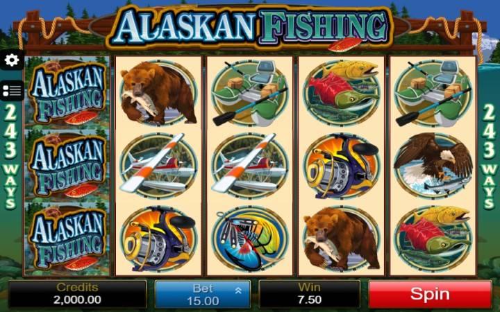 Alaskan Fishning, online casino bonus