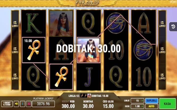 Online Casino Bonus, Pyramid