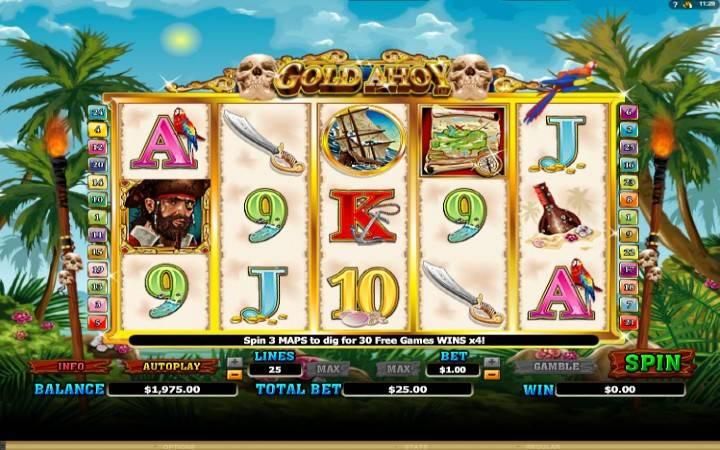 Gold Ahoy, Online Casino Bonus