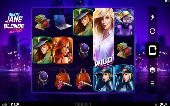 Agent Jane Blond Returns, Online Casino Bonus