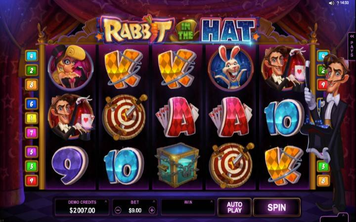 Rabbit in the Hat, Online Casino Bonus