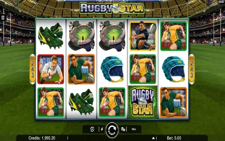 Rugby Star, online casino bonus