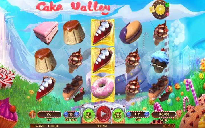 Cake Valley, Online Casino Bonus
