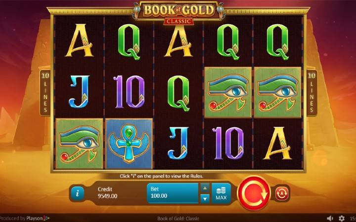 Book of Gold, Online Casino Bonus