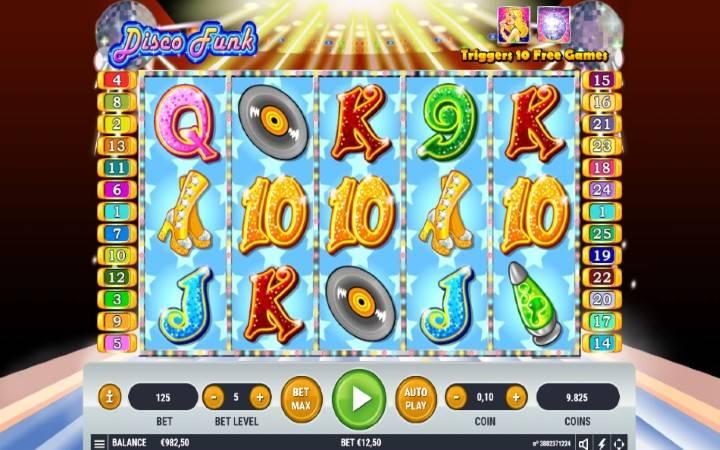 Disco Funk, Online Casino Bonus