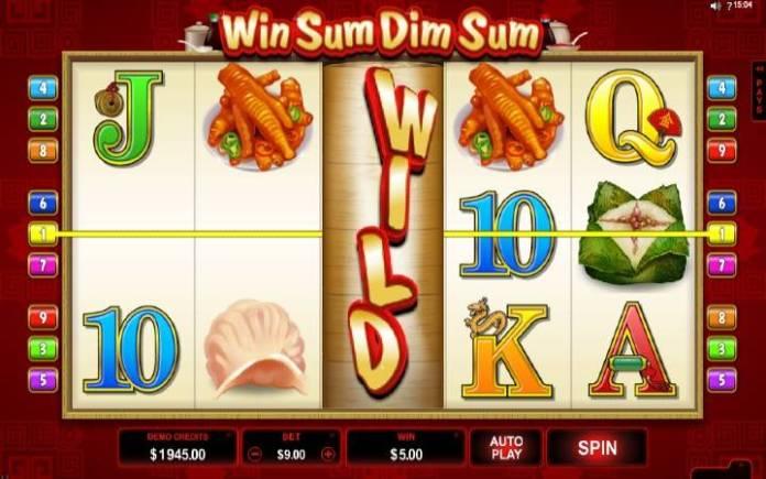 Online casino bonus, Win SUm Dim Sum