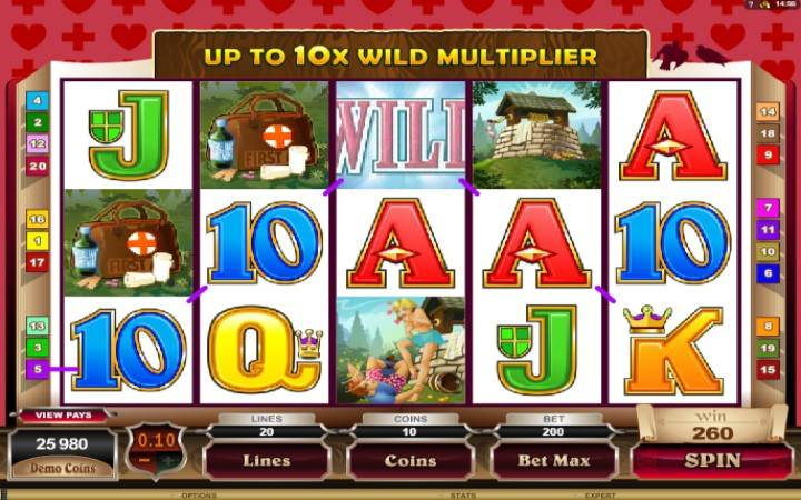 Online casino bonus, Jack and Jill