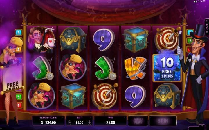 Besplatni spinovi, Rabbit in the Hat, online casino bonus