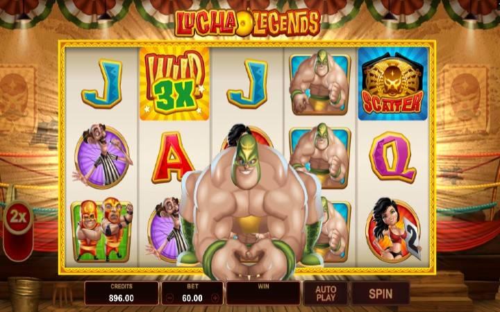Online Casino bonus, Super Džoker, Lucha Legends