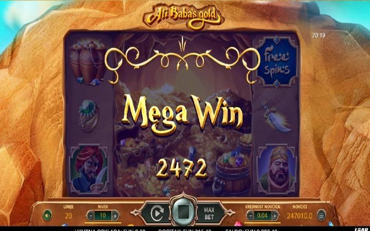 Online Casino Bonus, Ali Babas Gold, Otvori se sezame