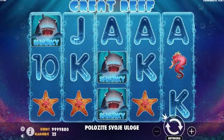 Great Reef, Online Casino Bonus