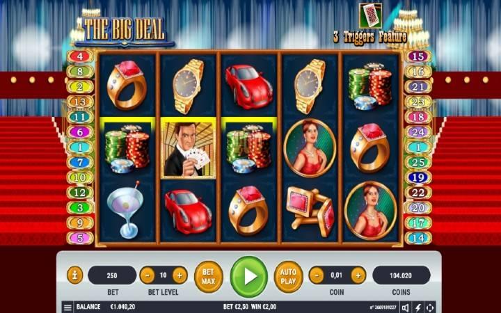 The Big Deal, Online Casino Bonus