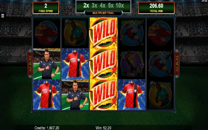 Football Star, online casino bonus
