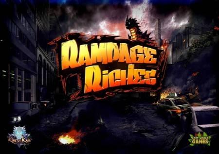 Rampage Riches – strip u formi slota sa više bonusa!