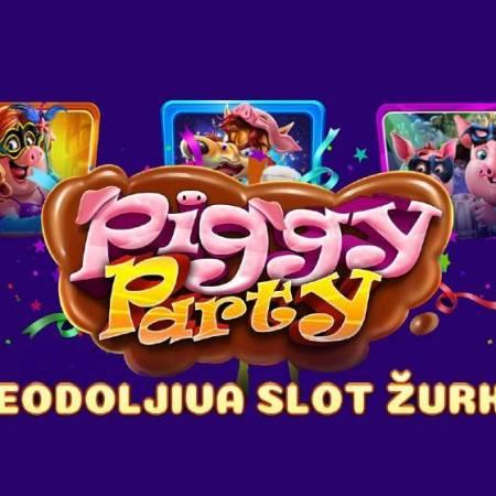 Ovoga puta Piggy Party, pored zabave, donosi i veliki dobitak!
