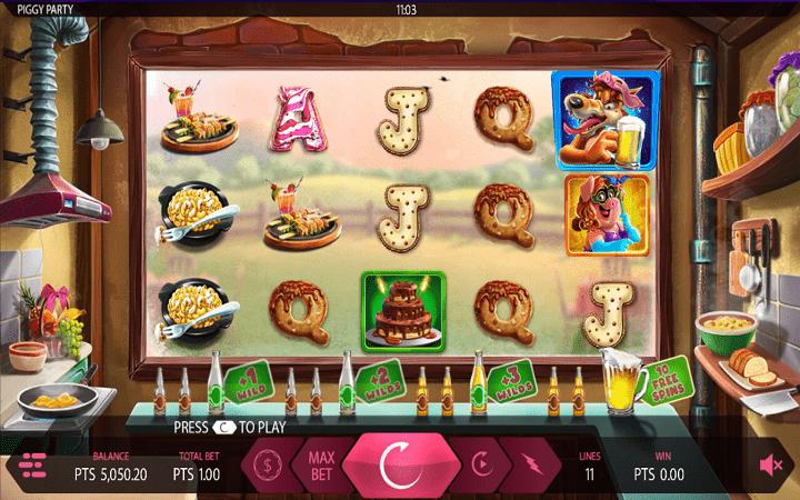 Ovoga puta Piggy Party, pored zabave, donosi i veliki dobitak, Expanse, Online Casino Bonus
