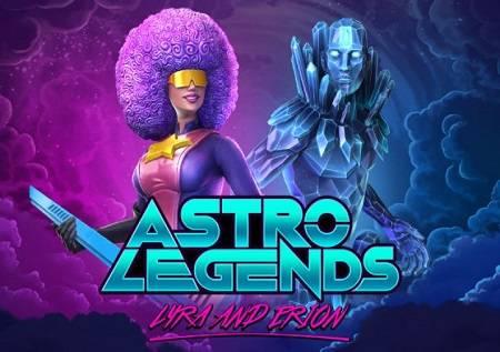 Astro Legends – uzbudljiva slot svemirska avantura!