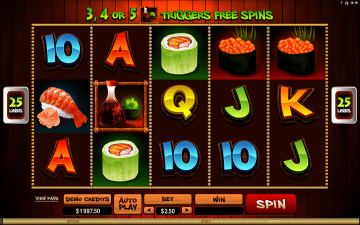 So Much Sushi, Microgaming, Online Casino Bonus