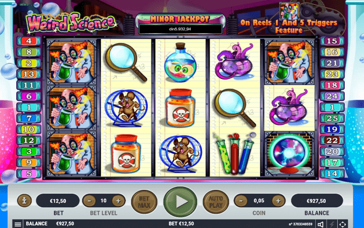 Weird Science, Habanero, Online Casino Bonus
