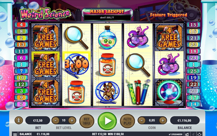 Weird Science, Habanero, Online Casino Bonus