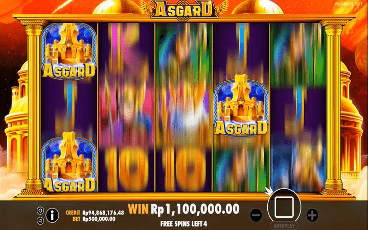 Asgard, Pragmatic Play, Online Casino Bonus