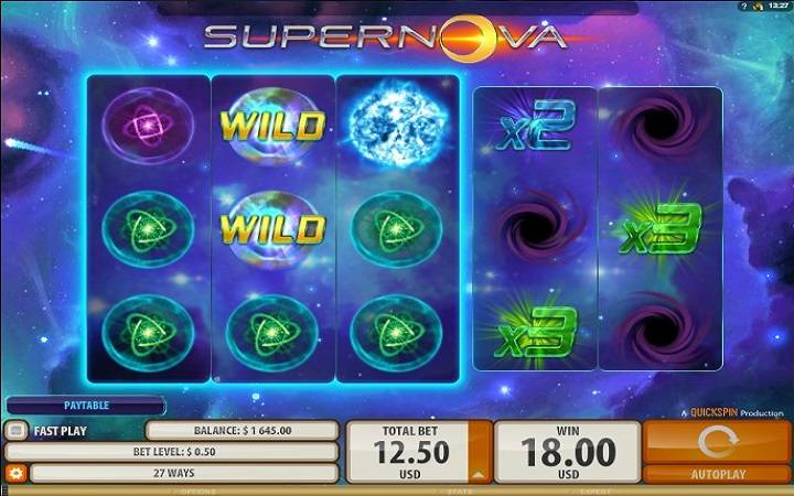 Supernova, Online Casino Bonus