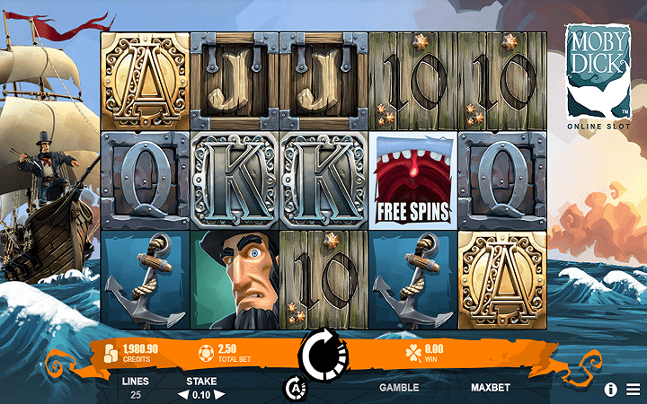 Moby Dick, Microgaming, Online Casino Bonus