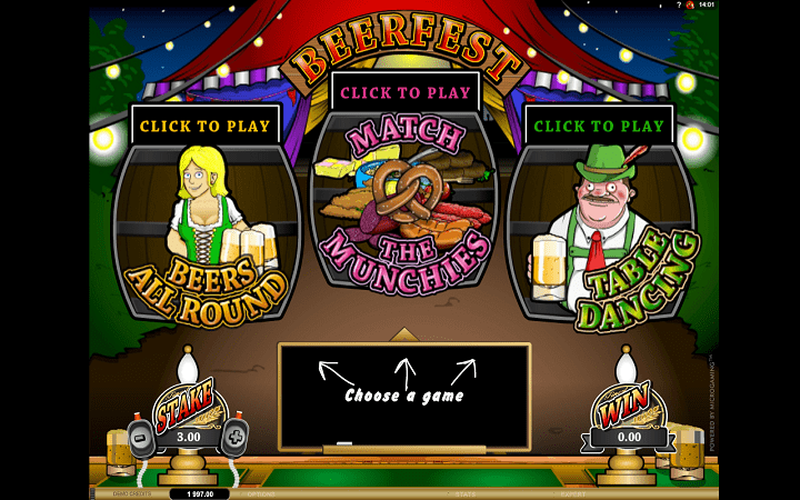 Beer Fest, Microgaming, Online Casino Bonus
