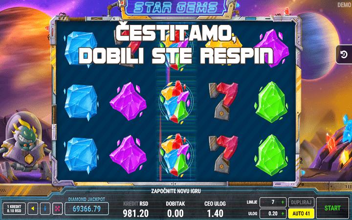 Star Gems, Fazi, Online Casino Bonus,