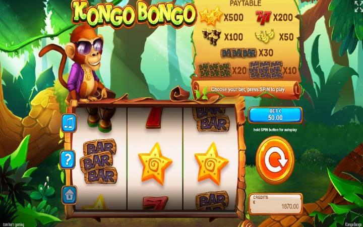 Kongo Bongo, Online Casino Bonus