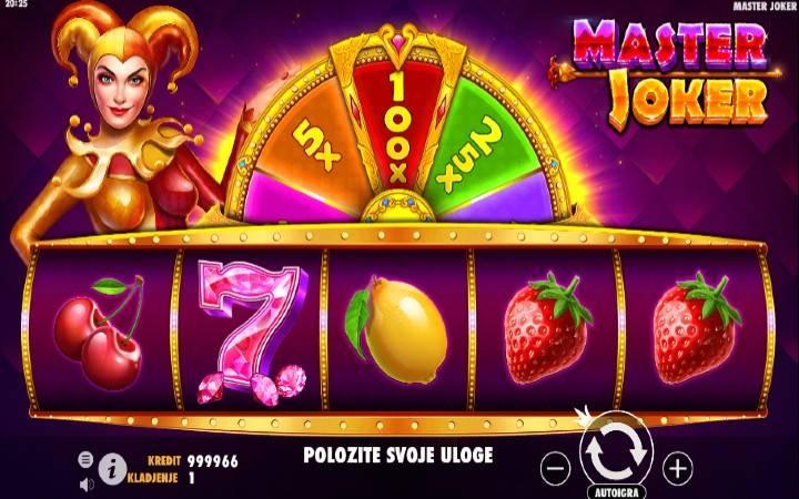 Master Joker, Online Casino Bonus