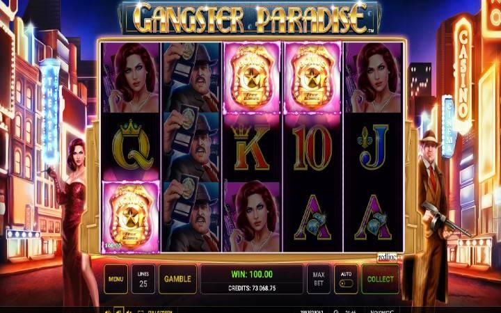 Online Casino Bonus, Besplatni spinovi, Gangster Paradise