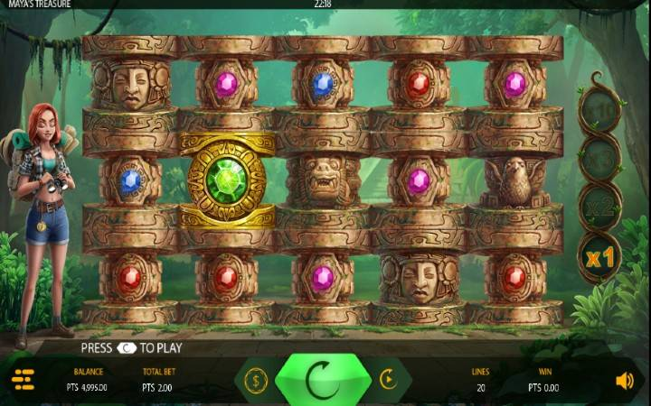Maya's Treasure, Online Casino Bonus, Expanse
