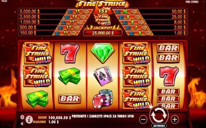Fire Strike, Pragmatic Casino, Online Casino Bonus