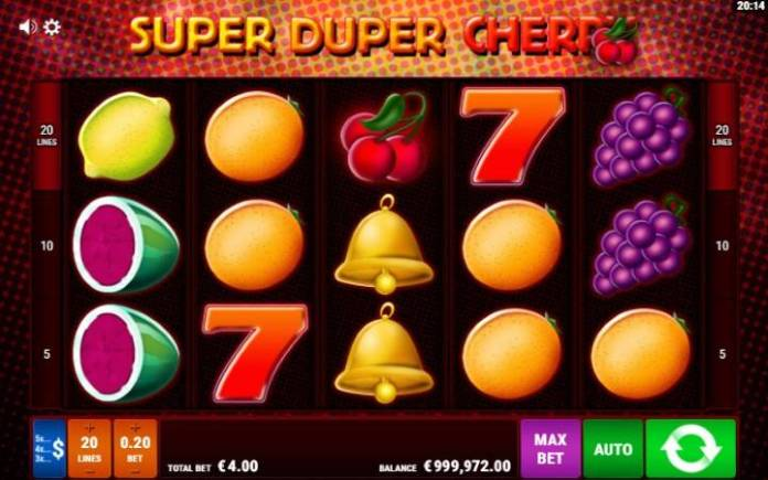 Super Duper Cherry, Online Casino Bonus, Gamomat