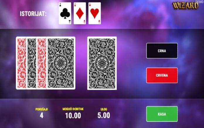 Wizard, Online Casino Bonus, kockanje