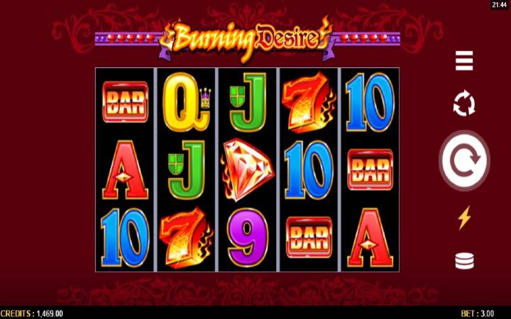 Burning Desire, Microgaming, Online Casino Bonus